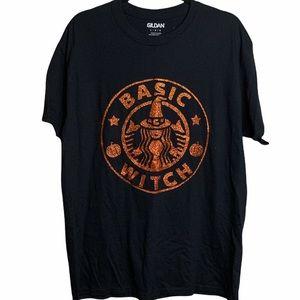 Basic Witch T-shirt Custom Glitter NWT mult sizes